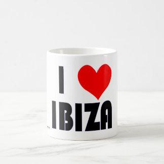 I love Ibiza mug