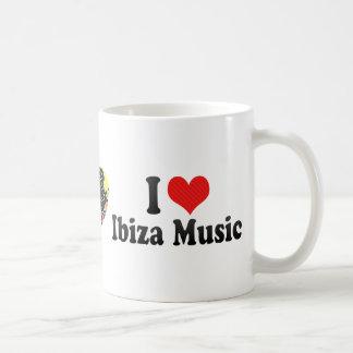 I Love Ibiza Music Mugs