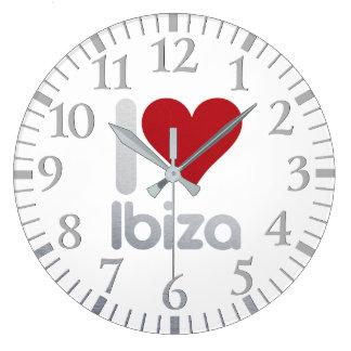 I LOVE IBIZA WALLCLOCK