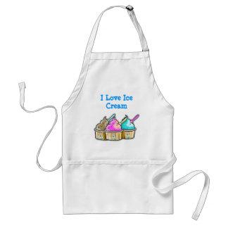 i love ice cream apron