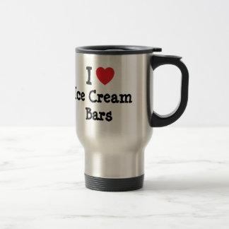 I love Ice Cream Bars heart T-Shirt Mug