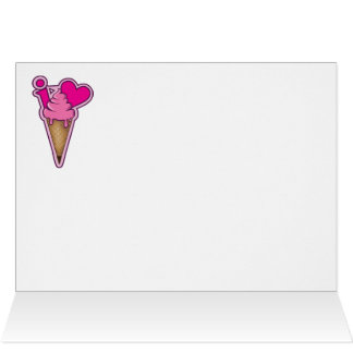 I love ice cream card