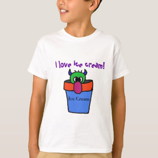 I love ice cream! monster shirt