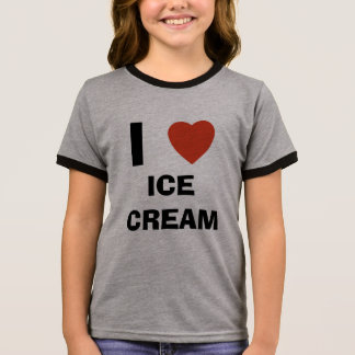 I love ice cream ringer T-Shirt