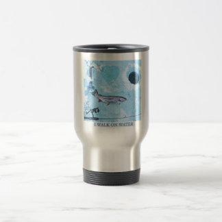 I love ice fishing travel mug