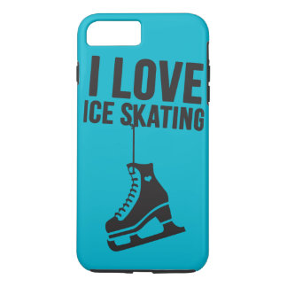I Love Ice Skating ( figure skating ) iPhone 7 Plus Case