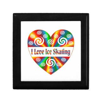 I Love Ice Skating Gift Box