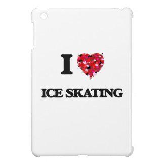 I Love Ice Skating iPad Mini Cover