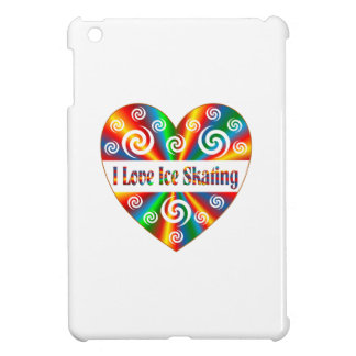 I Love Ice Skating iPad Mini Cases