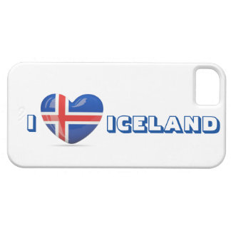 I Love Iceland iPhone case