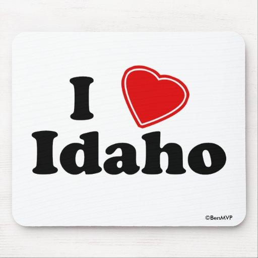 I Love Idaho Mousepads