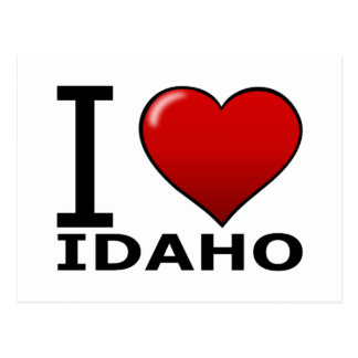 I LOVE IDAHO POSTCARD