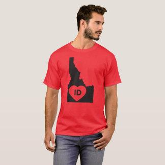I Love Idaho State  Men's Basic Dark T-Shirt