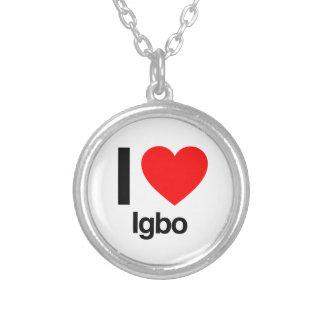 i love igbo necklace