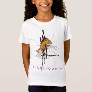 I love Iguana - Kids T-Shirt