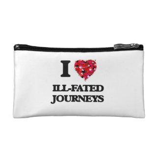 I Love Ill-Fated Journeys Makeup Bags