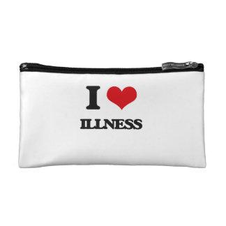I love Illness Cosmetics Bags