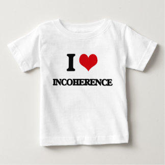I Love Incoherence Tee Shirt