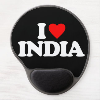 I LOVE INDIA GEL MOUSE PAD