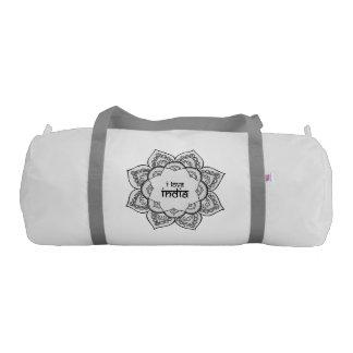 I Love India Gym Duffel Bag
