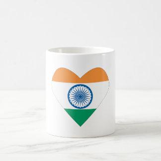 I love India mug / India heart