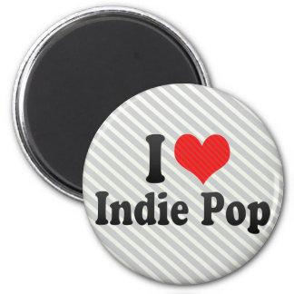 I Love Indie Pop Magnet