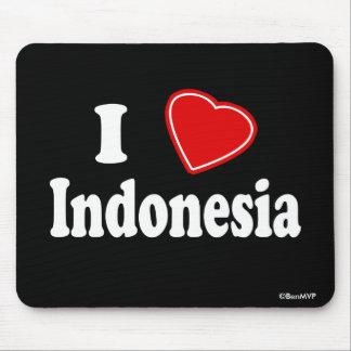 I Love Indonesia Mousepads