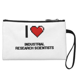 I love Industrial Research Scientists Wristlet