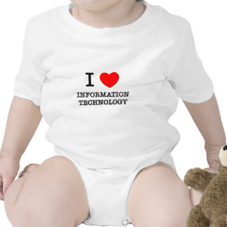 I Love Information Technology T Shirts