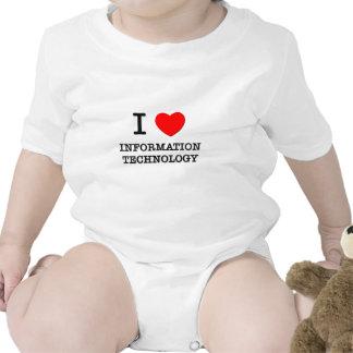 I Love Information Technology T Shirts