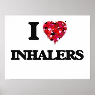 I Love Inhalers Poster