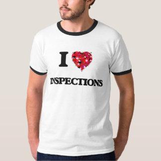 I Love Inspections Tee Shirt