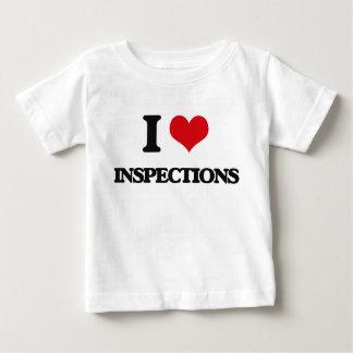 I Love Inspections Tshirts