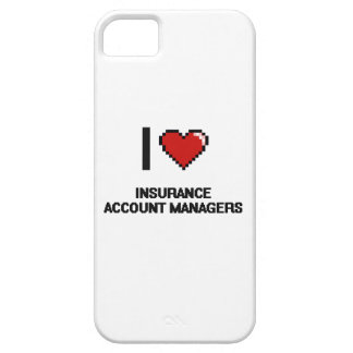 I love Insurance Account Managers iPhone 5 Case