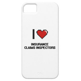I love Insurance Claims Inspectors iPhone 5 Cover