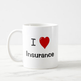 I Love Insurance - Insurance Loves Me Coffee Mug