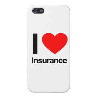 i love insurance iPhone 5/5S cases