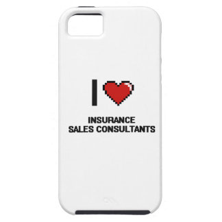I love Insurance Sales Consultants Case For The iPhone 5