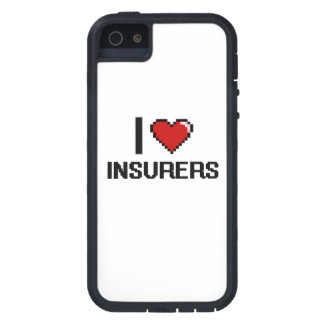 I love Insurers iPhone 5 Case