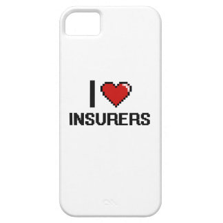 I love Insurers iPhone 5 Covers