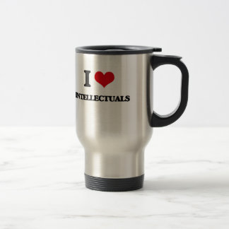 I love Intellectuals 15 Oz Stainless Steel Travel Mug