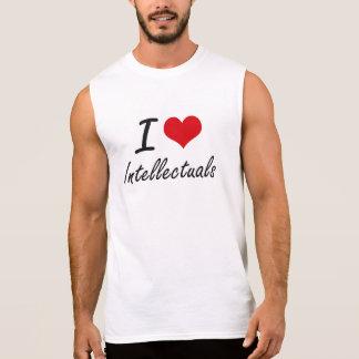 I love Intellectuals Sleeveless T-shirts