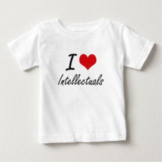 I love Intellectuals Tee Shirts