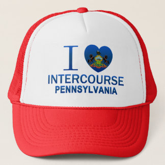 I Love Intercourse, PA Trucker Hat