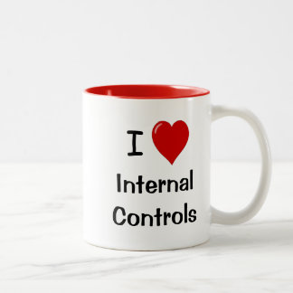 I Love Internal Controls Office Mug