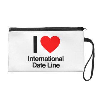 i love international date line wristlet clutch