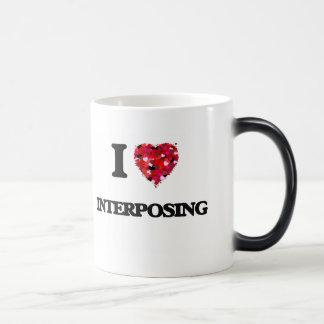 I Love Interposing Morphing Mug