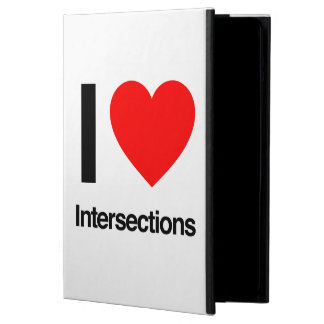 i love intersections cover for iPad air