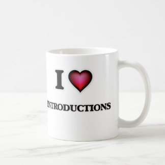 I Love Introductions Coffee Mug