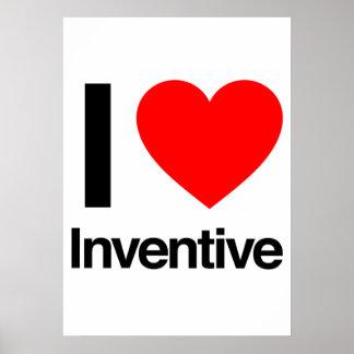 i love inventive posters